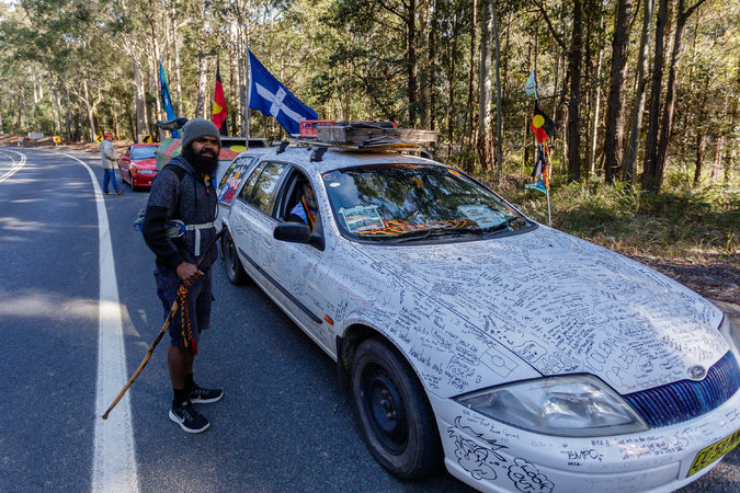 4,000 Kilometers, 10 Months: One Australian's March for Indigenous Rights