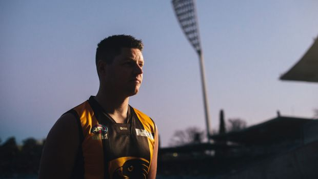 AFL Canberra: Ashley Pocock set to break Tuggeranong Hawks all-time game record