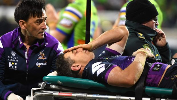 Billy Slater says Canberra knockout scared his family