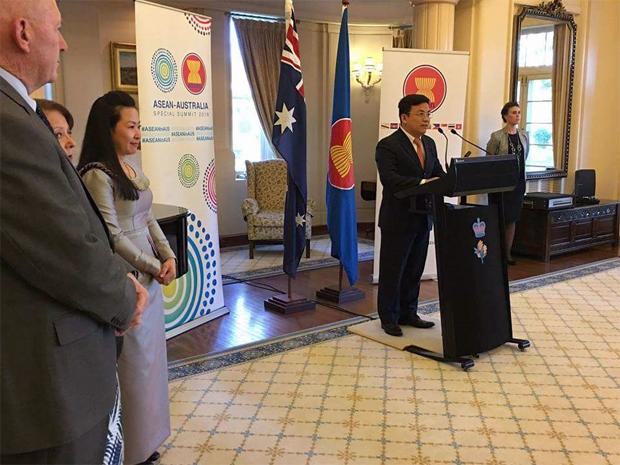 Celebration of 50th Founding Anniversary of ASEAN in Australia