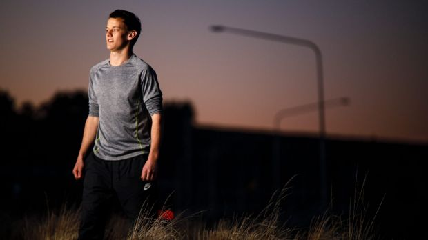 Father and son will run together on Father's Day in the Canberra Times Fun Run