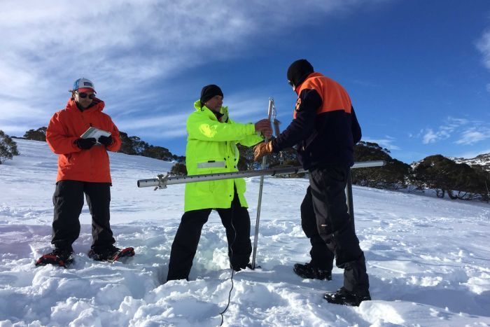 How do we keep track of record snowfalls in Australia? It all happens at remote Spencers Creek