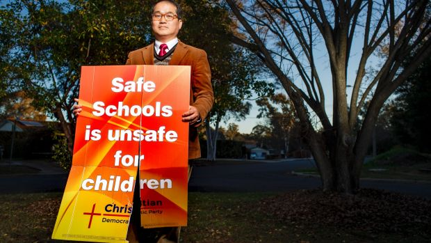 Lyle Shelton, Fred Nile to speak at Canberra anti-Safe Schools rally