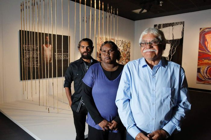 National Aboriginal and Torres Strait Islander Art Awards: SA family wins overall prize with work on prison and culture