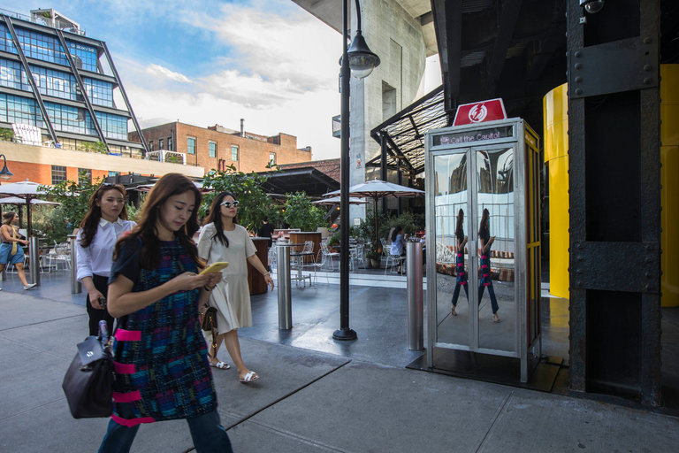 New York Today: New York Today: A Dial-a-Rep Phone Booth