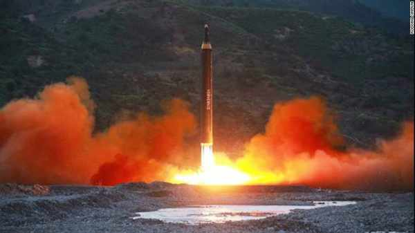 """North Korea threatens missile strike near Guam, warns of all-out war The saber-rattling came hours after U.S. President Donald Trump warned that North Korea will be met with """"fire and fury"""" should it stick to ambitions to hit the U.S"""